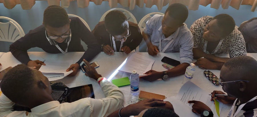 Conception et animation d'un hackathon au Ghana